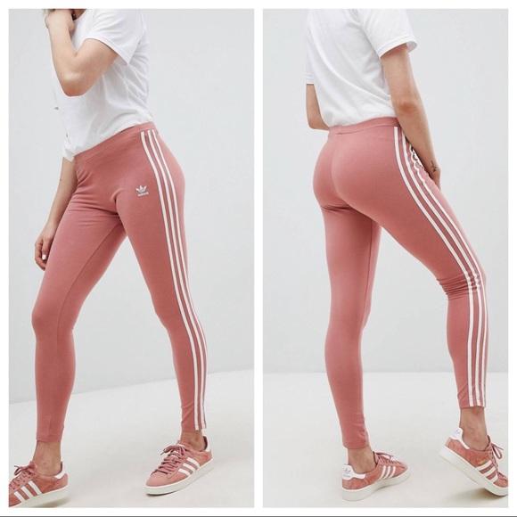 818d155bb37c3 adidas Pants   Bnwt Ash Pink Leggings   Poshmark